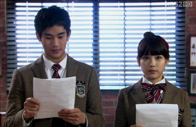 Kim Soo Hyun and IU