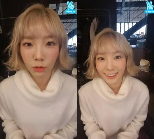 Girls Generations Taeyeon Displays Why She Cut Her Hair