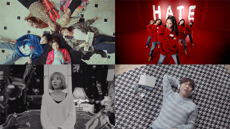 This Week in K-Pop MV Releases – February Week 1