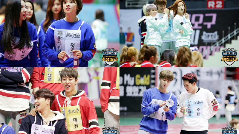 Take a Appearance at Behind the curtain of the 2016 Idol Star Athletics Championships