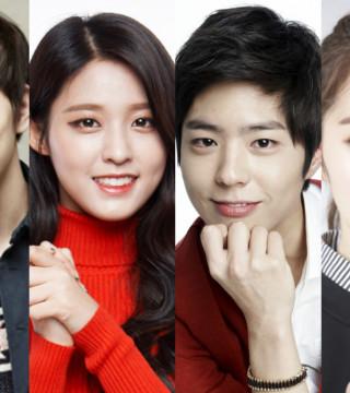 Yoo Seung Ho AOA Seolhyun Park Bo Gum Red Velvet Irene