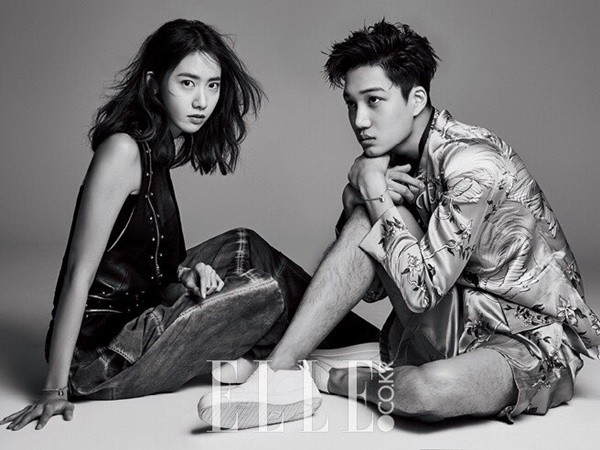 Girls Generations YoonA and EXOs Kai Are Chic and Charitable for Elle
