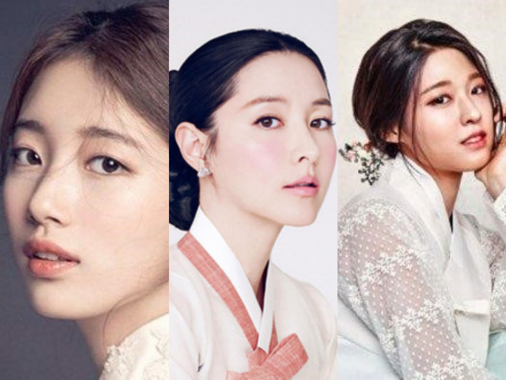 Koreans Vote for the correct Representative Hanbok Model