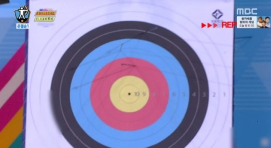 "Who Was the First to Receive a Score of 0 In Archery at the ""Idol Star Athletics Championships""?"