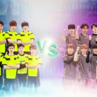 BEAST's Yoon Doo Joon and VIXX's Leo Face Off in Futsal Match
