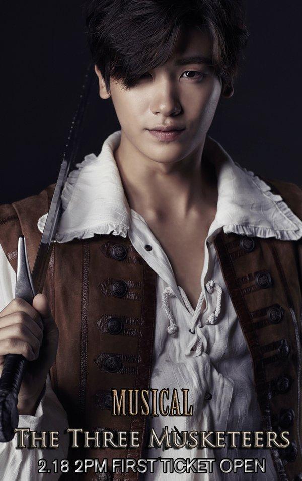 park hyung sik three musketeers