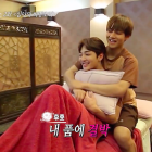 "Watch: BTS's V Holds Kim Min Jae During Painful Massage on ""Celebrity Bromance"""