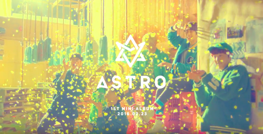 ASTRO Drops Teaser for Debut Mini Album and MV