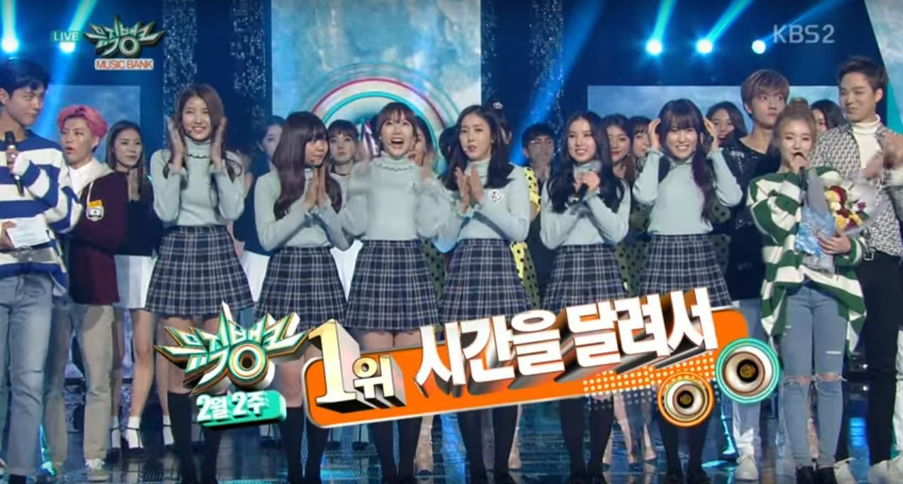 "GFRIEND Takes Home Their 7th Win on ""Music Bank"" With ""Rough"""