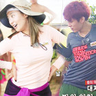 """Watch: INFINITE's Sungyeol and SISTAR's Bora Dance to """"Touch My Body"""" on """"Law of the Jungle"""""""