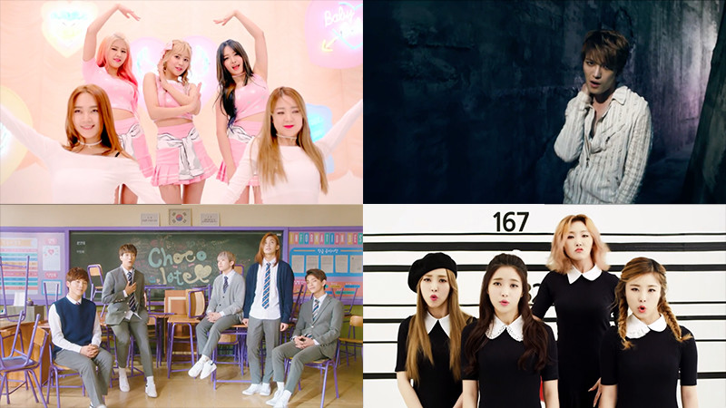 This Week in K-Pop MV Releases – February Week 2