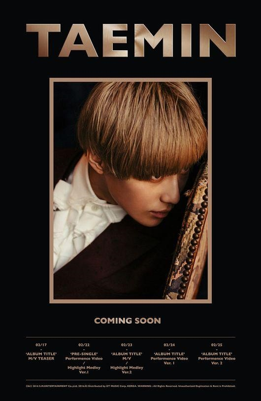 SHINees Taemin Is Making a Solo Comeback Next Week