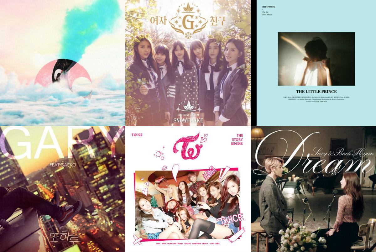 soompi Weekly Music Chart 2016 – February Week 2