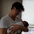 Ahn Jae Wook Becomes a Father