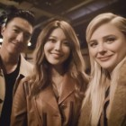 Daniel Henney, Girls' Generation's Sooyoung, and Chloe Moretz Meet at Fashion Show in New York