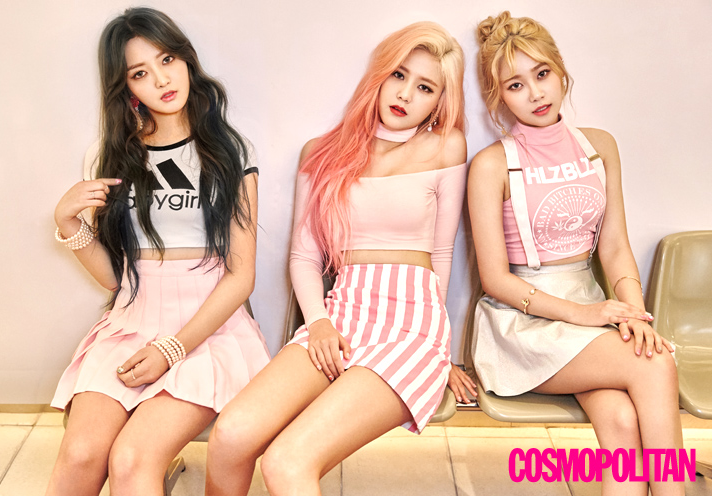 AOA Cream Is Sweet and Sultry for Cosmpolitan