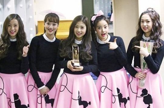 April Take Domestic Rookie of the Year Award at the 22nd Korean Entertainment Arts Awards
