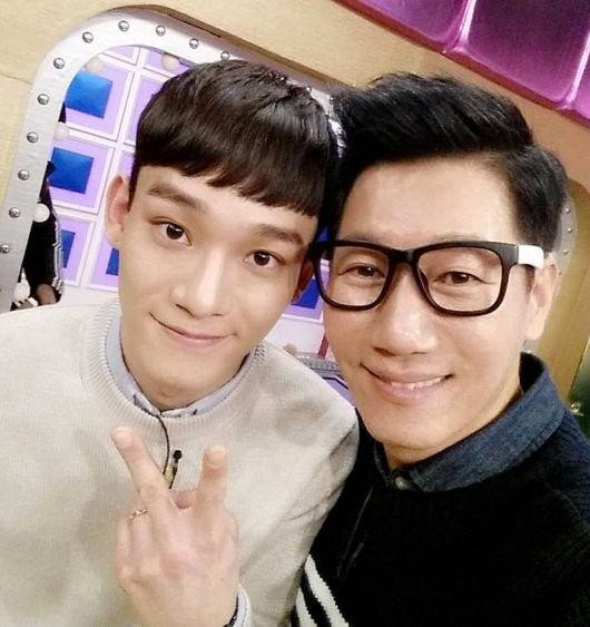 Ji Suk Jin and EXOs Chen Tease Upcoming Radio Star Appearance