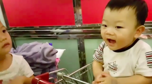 Baby Daebak Shows Off His Adorable Polite Thai Greeting in Instagram Video