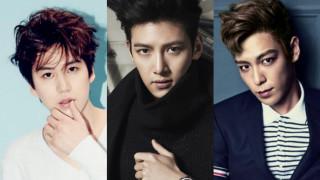 korean male stars army 2016