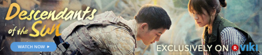 Descendants of the Sun soompi to viki banner