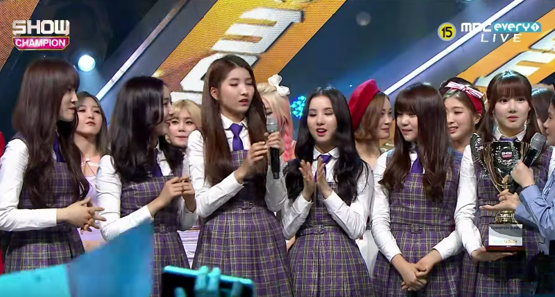 GFRIEND Takes Domestic 13th Win With Rough On Show Champion Performances by Females Code, NUEST and More