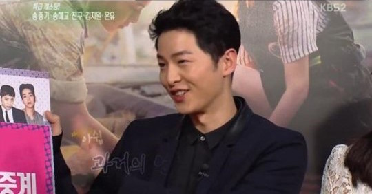Song Joong Ki Exhibits His Feelings About His Shirtless Scene In Descendants of the Sun