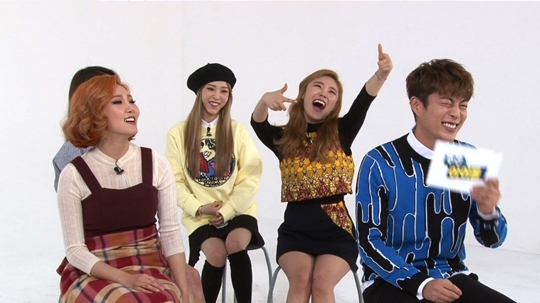 "MAMAMOO Shocks BEAST's Yoon Doo Joon With Their Non-Stop Energy and Fun on ""Weekly Idol"""