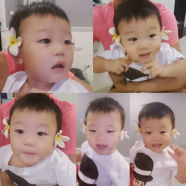 Baby Daebak Shows Off Some Aegyo With a stunning New Look in Instagram Photos