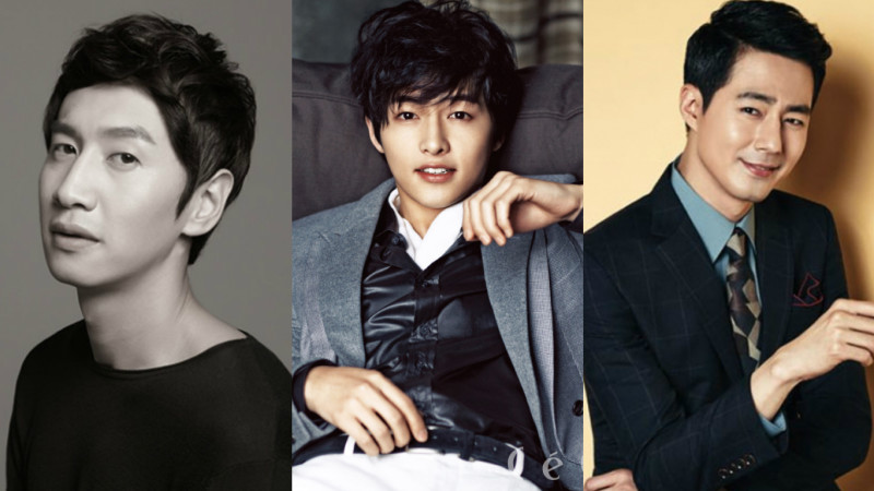 Lee Kwang Soo and Song Joong Ki Visit Jo In Sung at His Movie Set