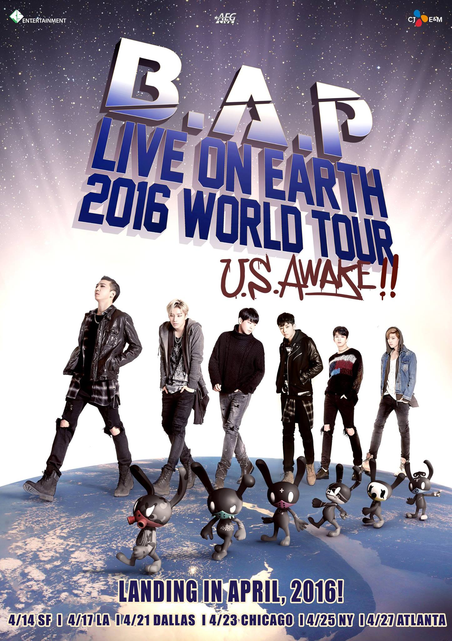 BAP Live on Earth 2016 US