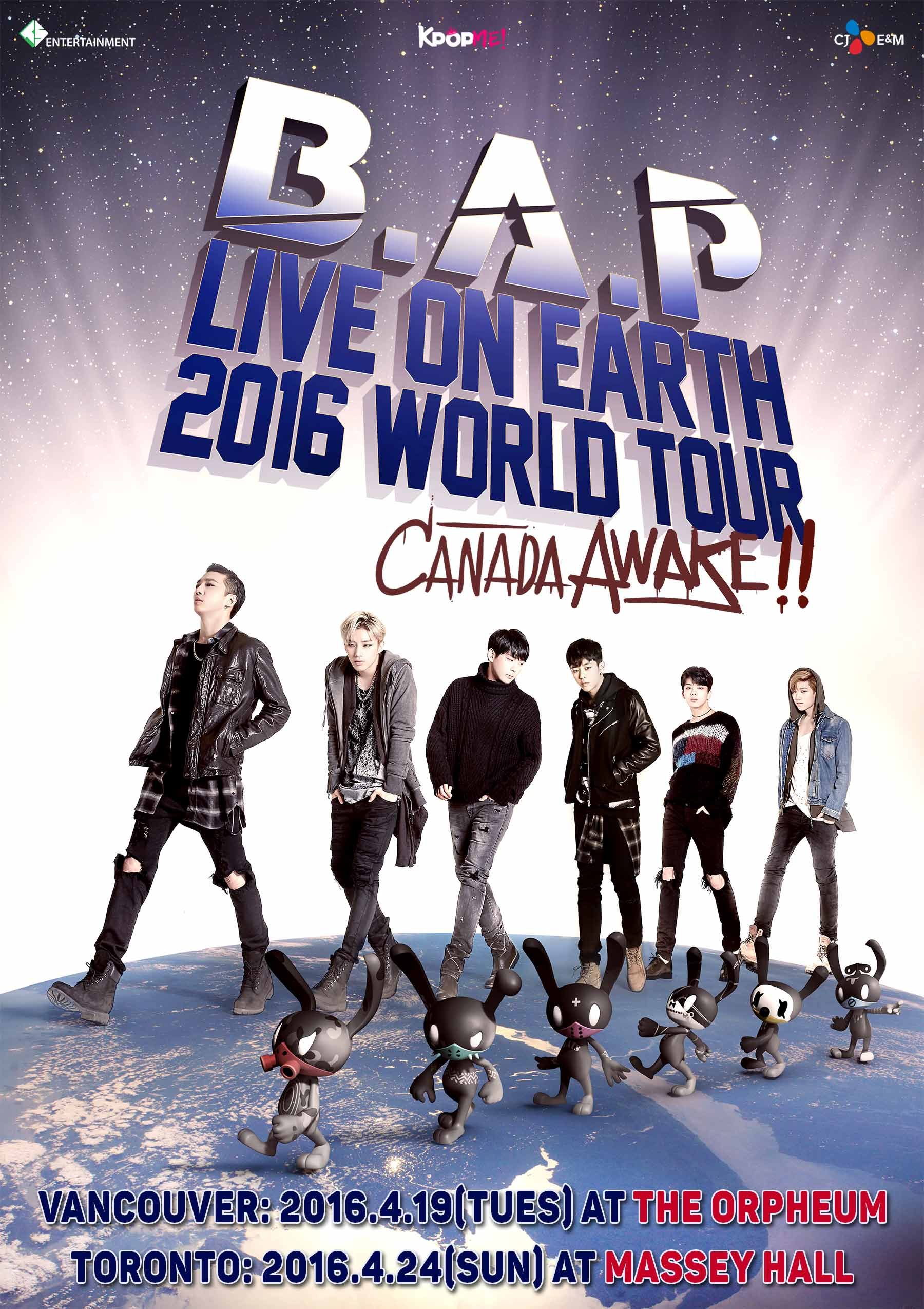 BAP Live on Earth 2016 Canada