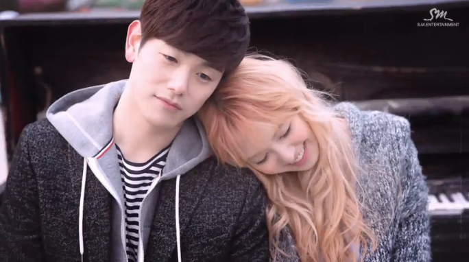 "Eric Nam and Red Velvet's Wendy Fall in ""Spring Love"" in Duet Music Video"