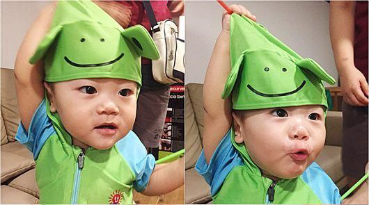 Daebak Transforms Into a Frog Prince on The Return of Superman""