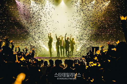 BIGBANG Wraps Up World Tour Reaching 1.5 Million Fans