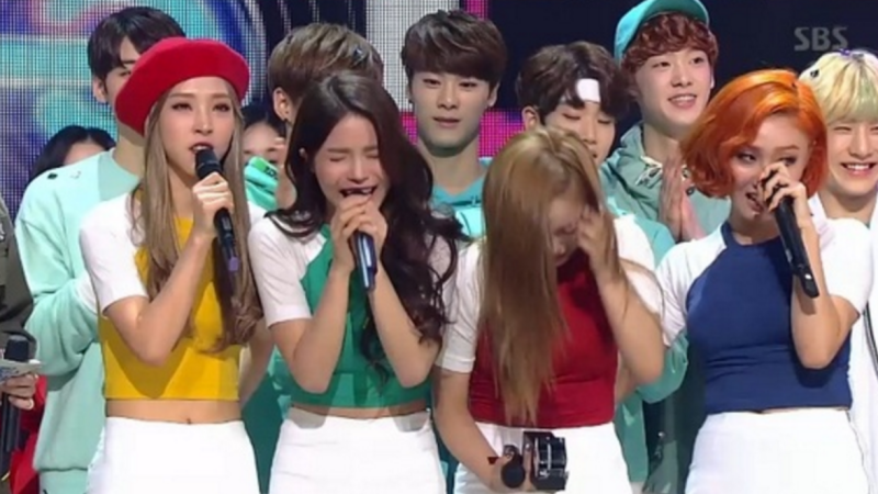 MAMAMOO Takes 1st Career Music Show Win on Inkigayo; Performances by Taemin, B.A.P, WINNER, and More