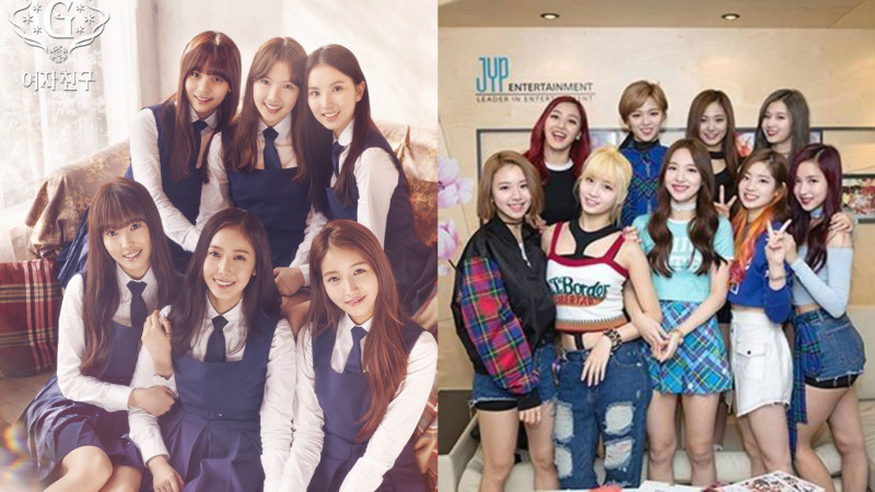 GFRIEND and TWICE to Cling a Collaboration Stage on Next Weeks Inkigayo