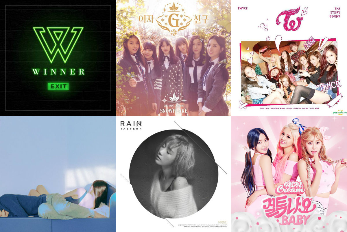 soompi Weekly K-Pop Music Chart 2016 – March Week 1