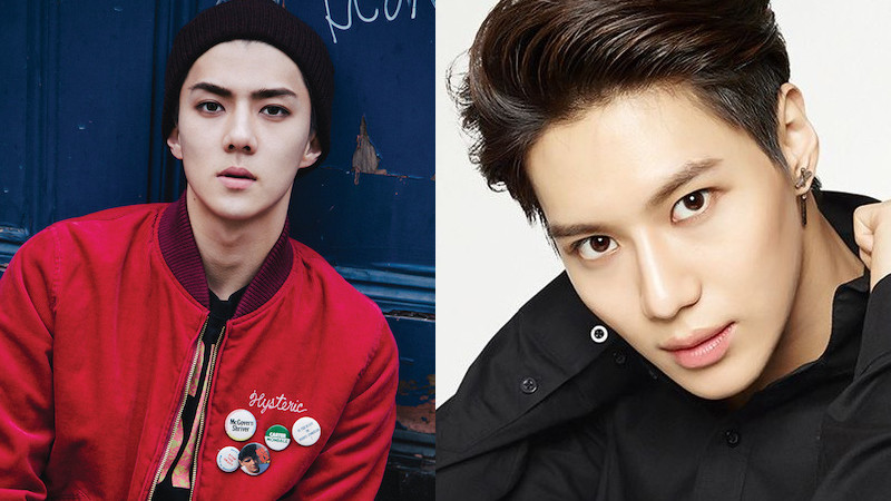 "EXO's Sehun Votes for Taemin on ""Inkigayo"" and Shares Proof on Instagram"