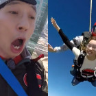 """Watch: Yoo Jae Suk and Lee Da Hae Overcome Fear of Heights to Complete Mission on """"Running Man"""""""