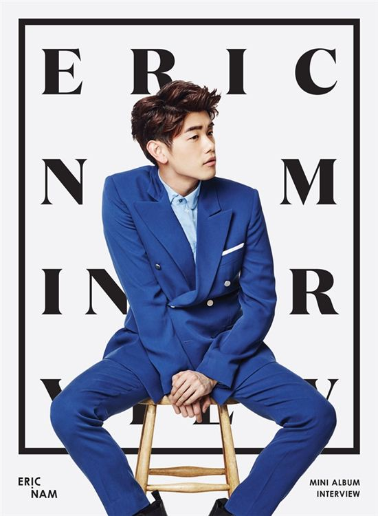 Eric Nam Confirms Comeback Date and Exhibits New Album Cover