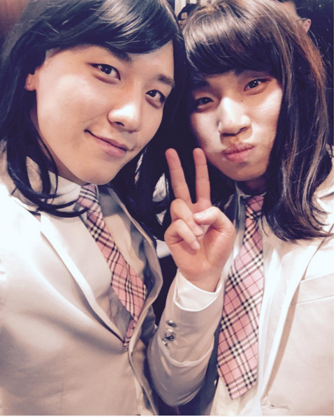 BIGBANG's Seungri and Daesung Dress Up As Produce 101 Trainees