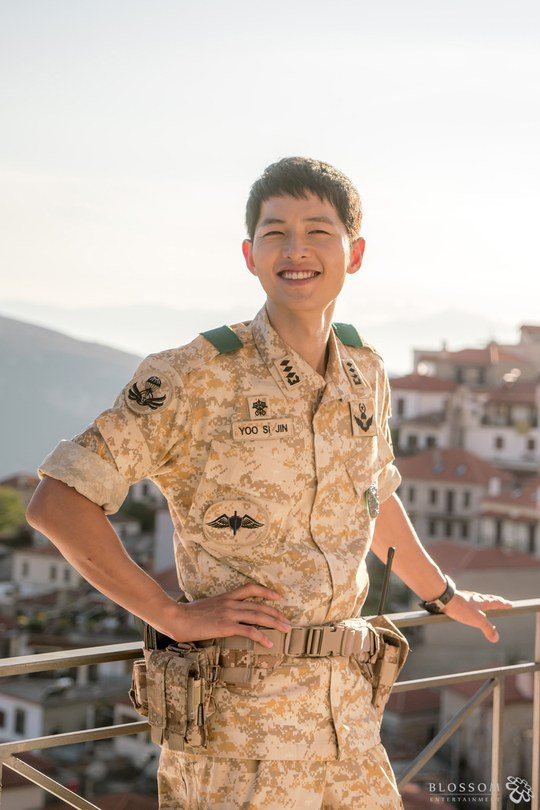 Song Joong Ki Gets Praised by Workers for Being Gorgeous Behind the Camera
