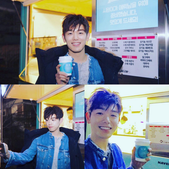 Eric Nam Thanks Im Siwan for Sending Coffee Truck to Music Video Set