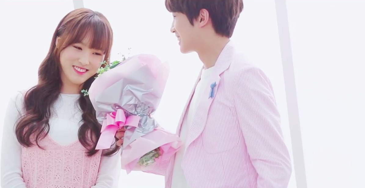 Up10tion member sunyoul and yuju of gfriend have joined together to