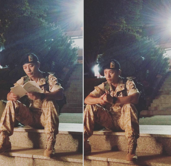 Descendants of the Sun Star Jin Goo Joins Instagram