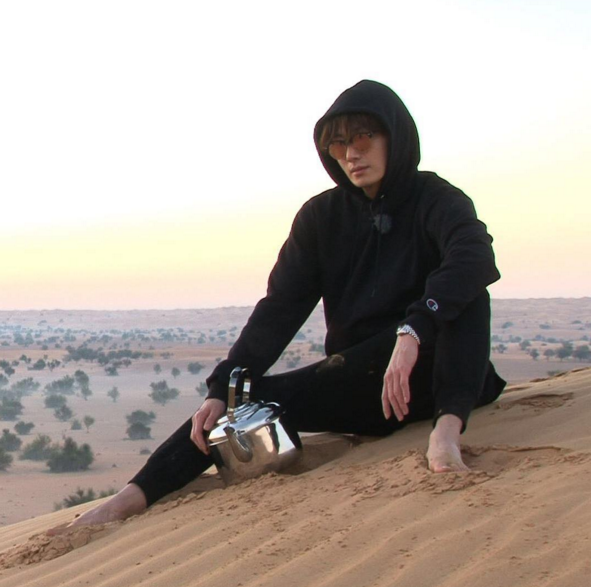 Jung Il Woos Clumsy Charms Captivate Running Man Members in Dubai
