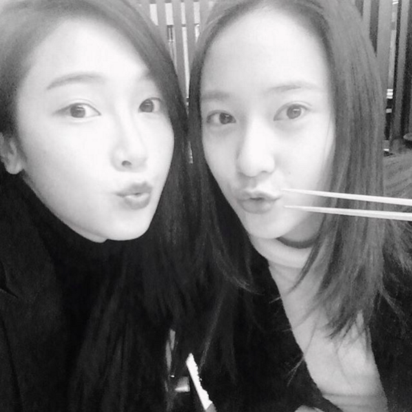 Jung Sisters Jessica and Krystal Reunite for Dinner