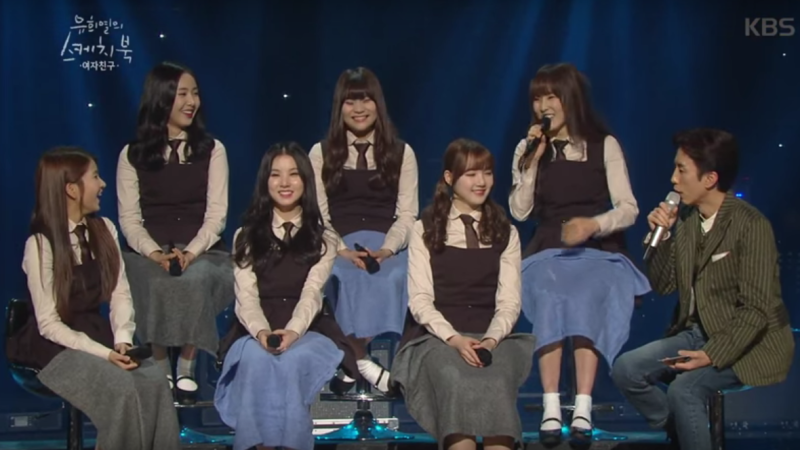 GFRIEND Displays Secret Story Behind Their Vaulting Choreography in Me Gustas Tu on Yoo Hee Yeols Sketchbook