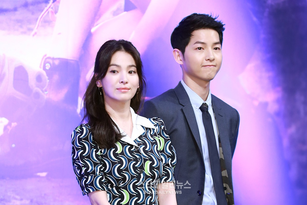 "Song Joong Ki And Song Hye Kyo Unable To Attend ""Descendants of the Sun"" Concert"